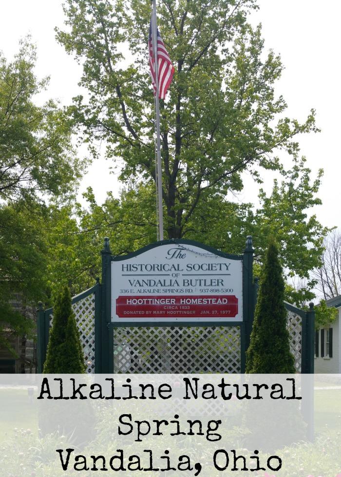 Alkaline Natural Spring Vandalia, Ohio