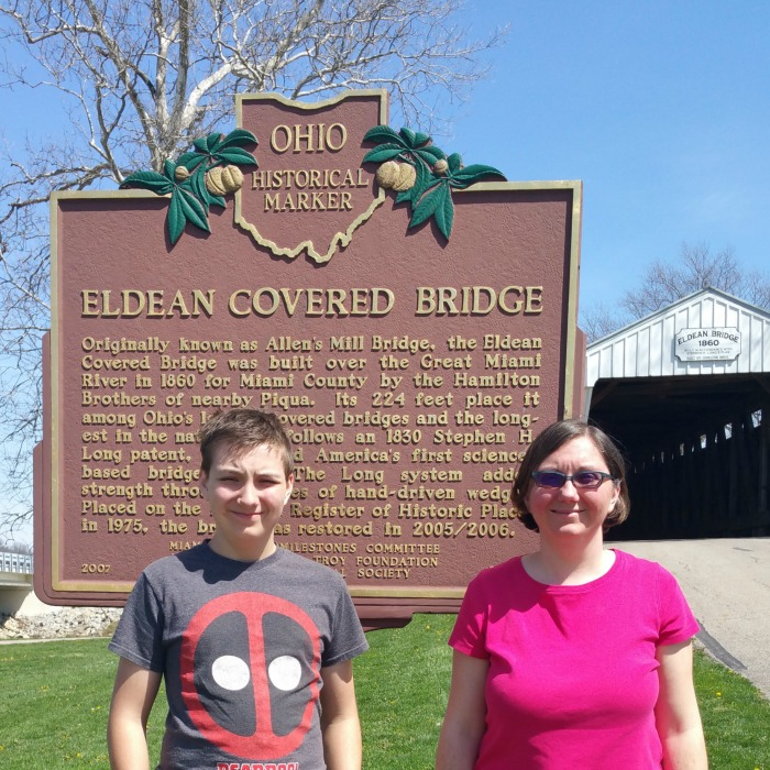 Eldean Bridge Historical Marker