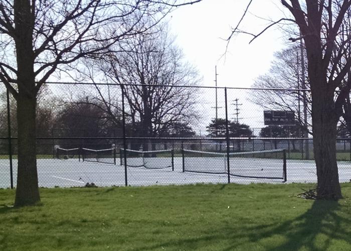 Pitsenbarger Sports Complex tennis courts