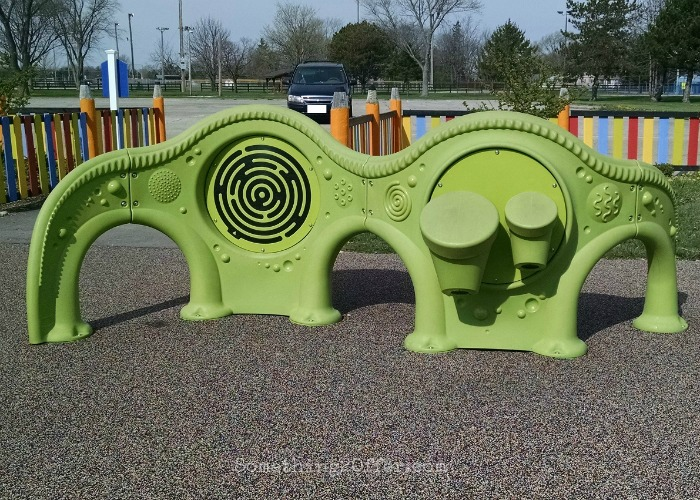 Special Needs Playground texture area