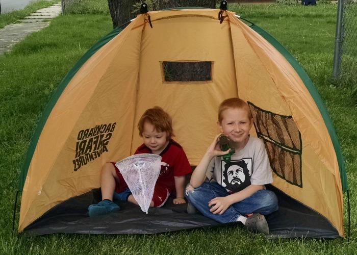 Backyard Safari Base Camp