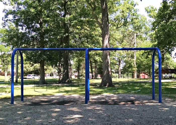 City Park Swing set