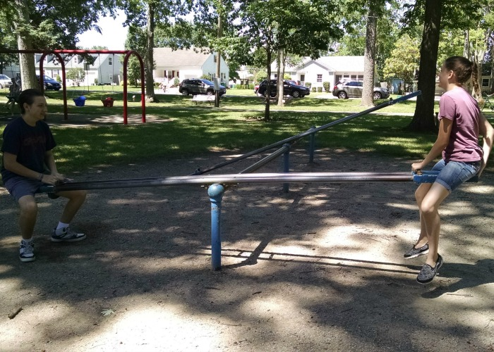 City Park Teeter Totter