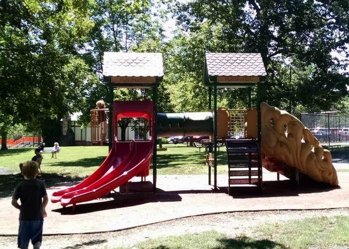 City Park play structure