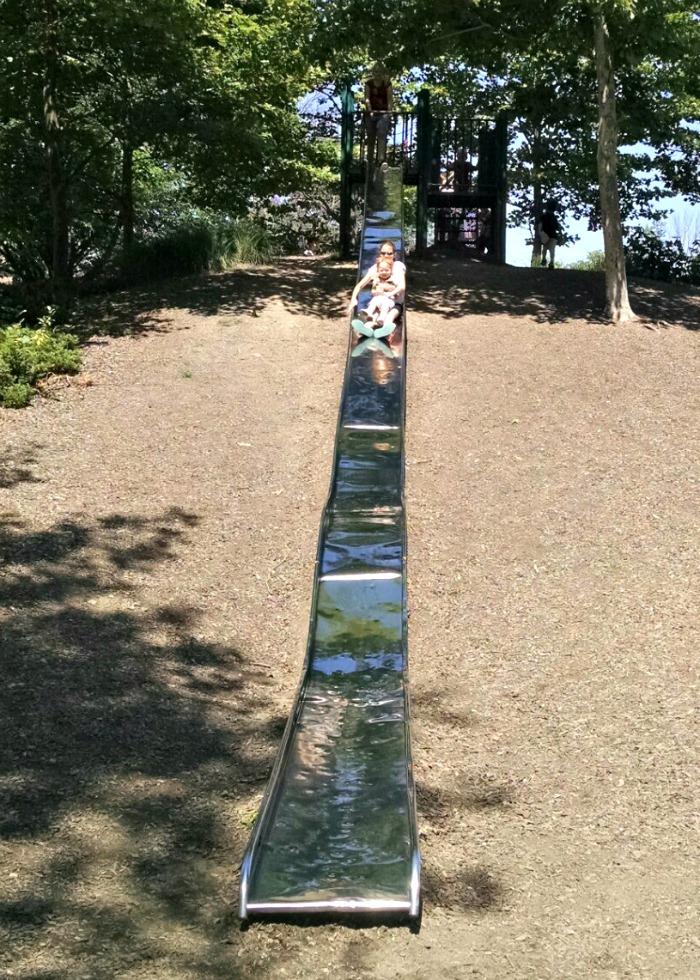 Shoup Park Metal Slide