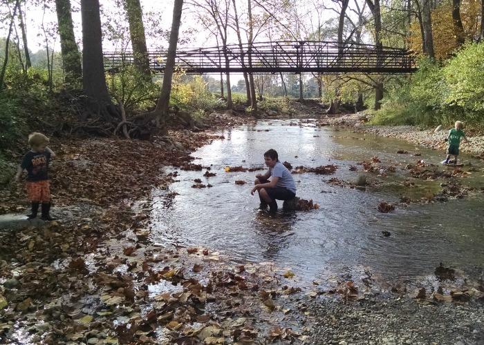 boys in Tawawa Creek