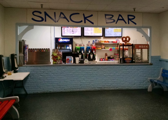 Ghostly Manor snack bar