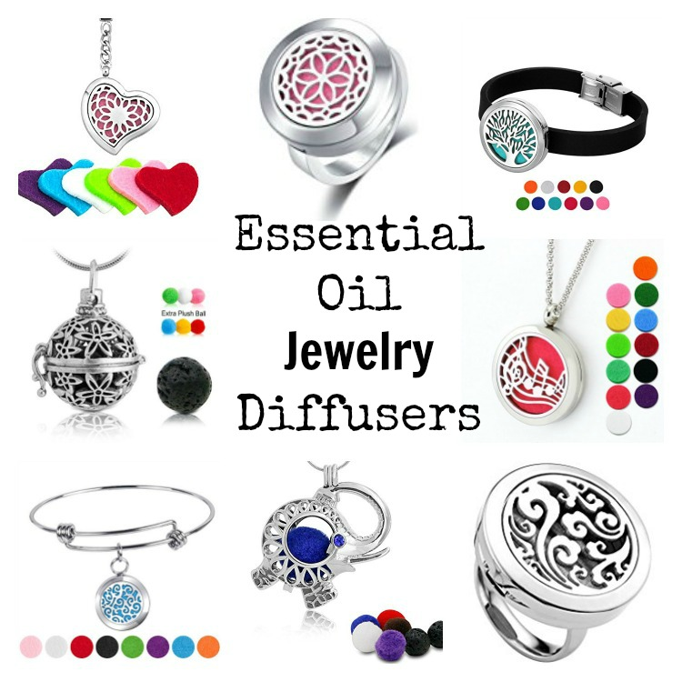 Essential Oil Jewelry Diffusers