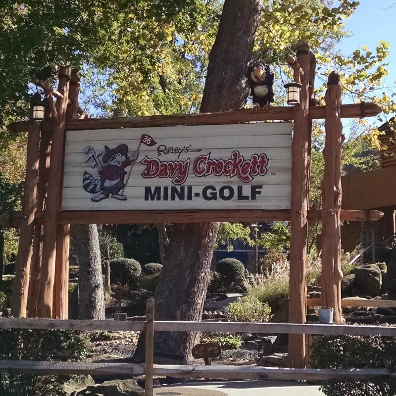 Ripley's Davy Crockett Mini-Golf