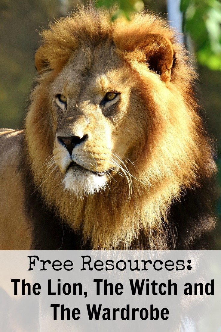 Free Resources for The Lion, The Witch and The Wardrobe