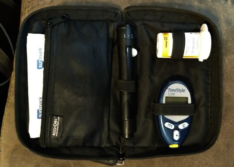 Blood Glucose Meter bag