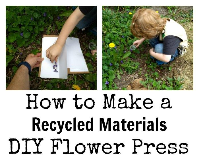 Diy Flower Press Naturebookclub Link Up