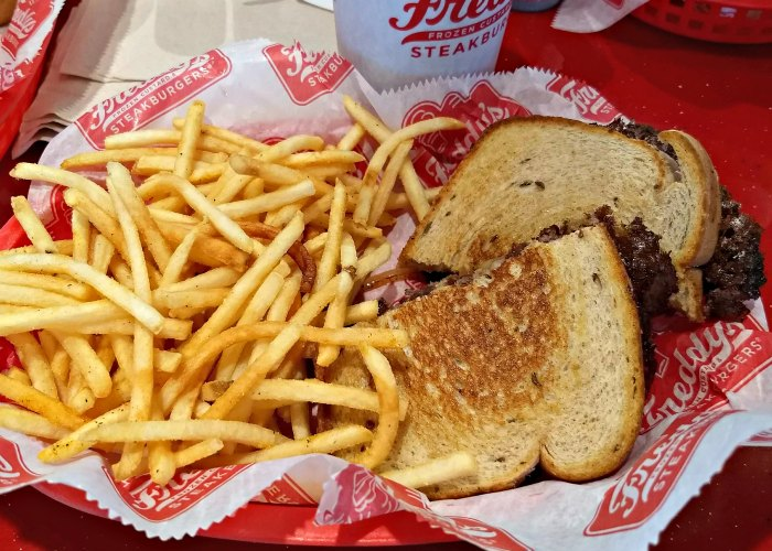 Freddy's Original Double Patty Melt