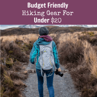 budget friendly hiking gear