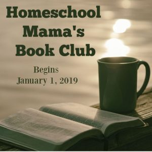 homeschool mama's book club Facebook Post