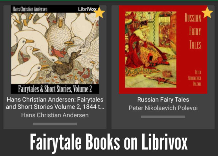 Fairytale Books on Librivox