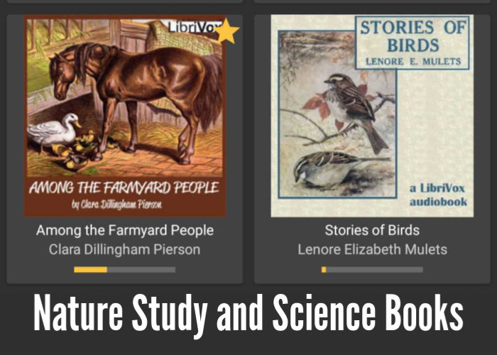 Nature Study and Science Books