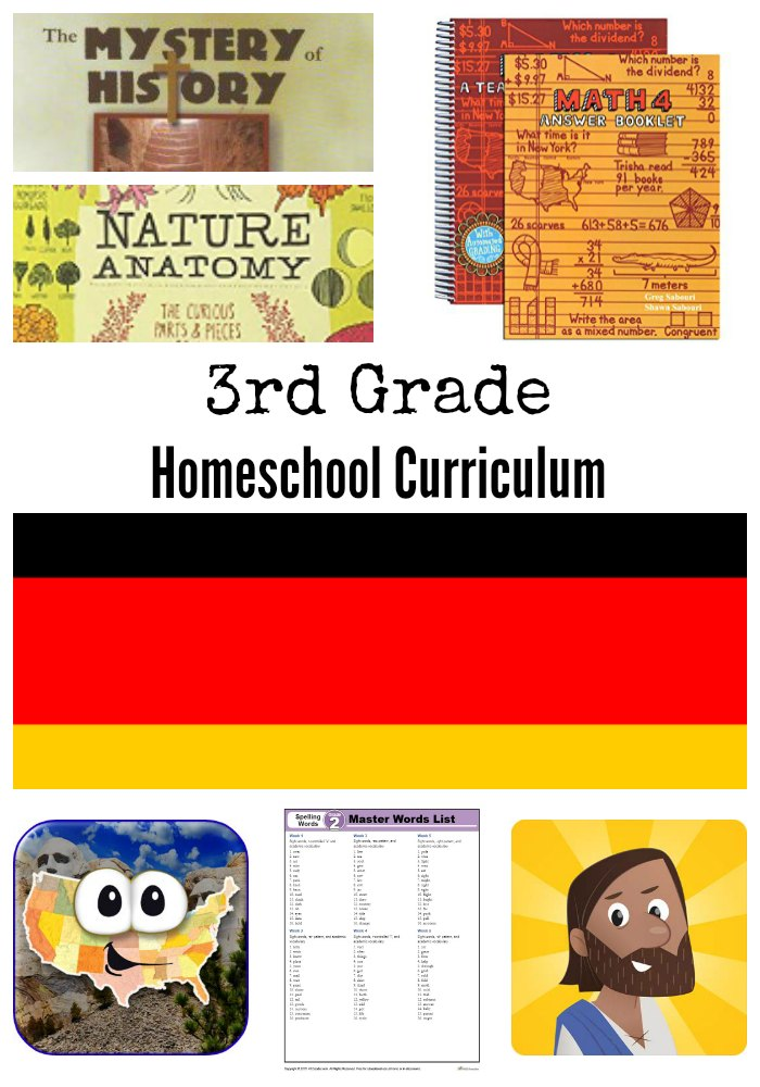 3rd Grade Homeschool Curriculum