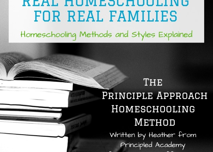 The Principle Approach Homeschooling Method {Real Homeschooling for Real Families}