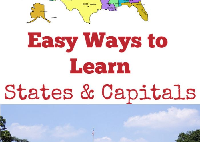 Easy Ways to Learn States and Capitals
