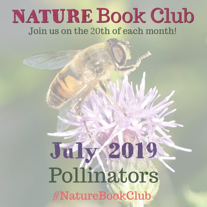 JULY Pollinators Nature Book Club IG 2019