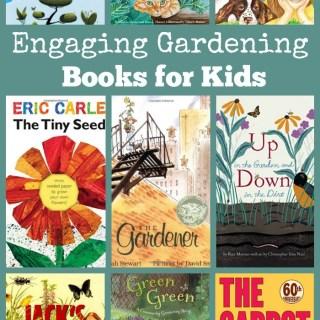 engaging gardening books for kids