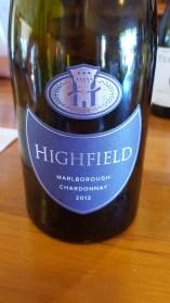 Highfield Estate Chardonnay 2012