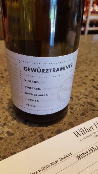 Wither Hills Gewurztraminer