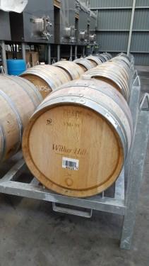 Oak barrique. This holds 225L