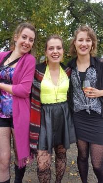 Some crazy French chicks