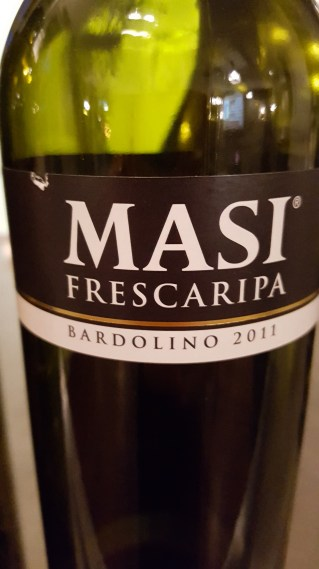 2011 Masi 'Frescaripa' Bardolino; ripe cherries, sweet smoke, vanilla, strawberry compote, light;
