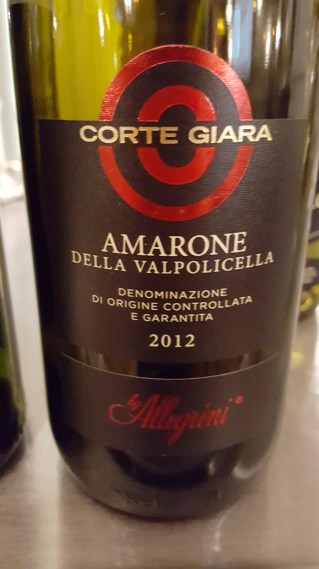 Allegrini 'Corte Giara' Amarone; Smooth, rich, full, soft, Christmas cake, clove, nutmeg, long; £22 Wine Society