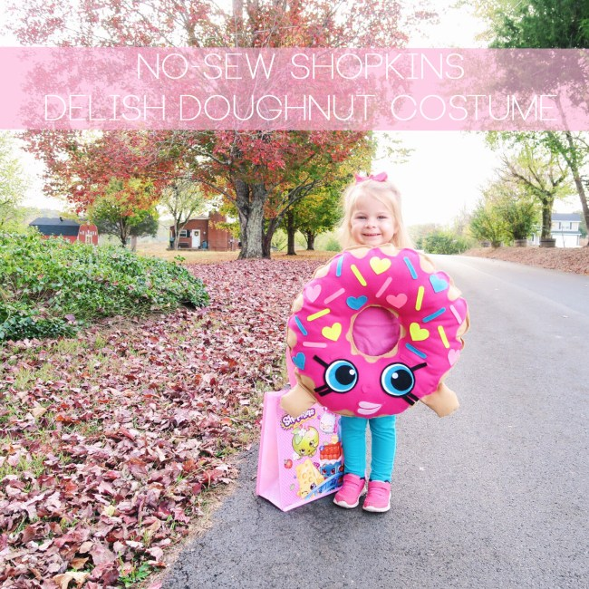 DIY Shopkins Delish Doughnut Costume