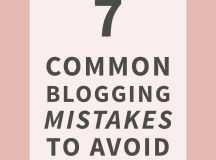 Common Blogging Mistakes to Avoid | Something About That