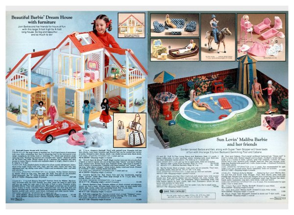 Sears Christmas Catalog 1981 - Year of Clean Water