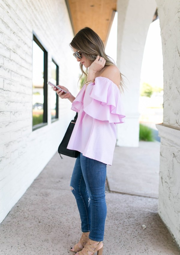 Off-The-Shoulder Designer Dupe