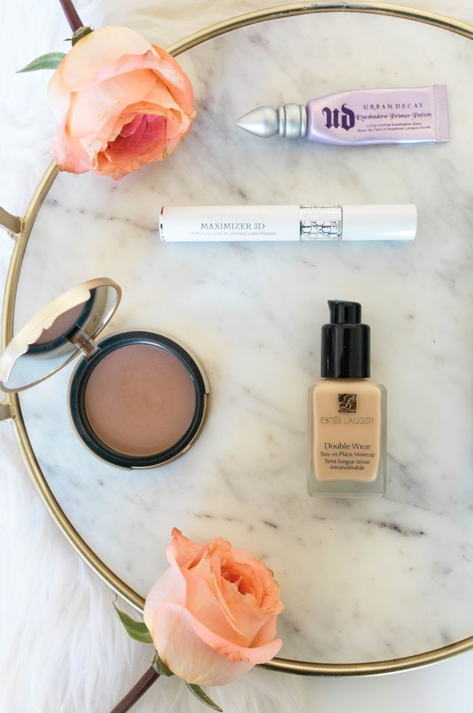 Estee Lauder Double Wear Foundation Diorshow 3d maximizing primer Bumble and bumble Thickening Mousse Too Faced Soleil Matte Bronzer Urban Decay Eyeshadow Primer Potion Something Beautiful The Blog Daryl-Ann Denner