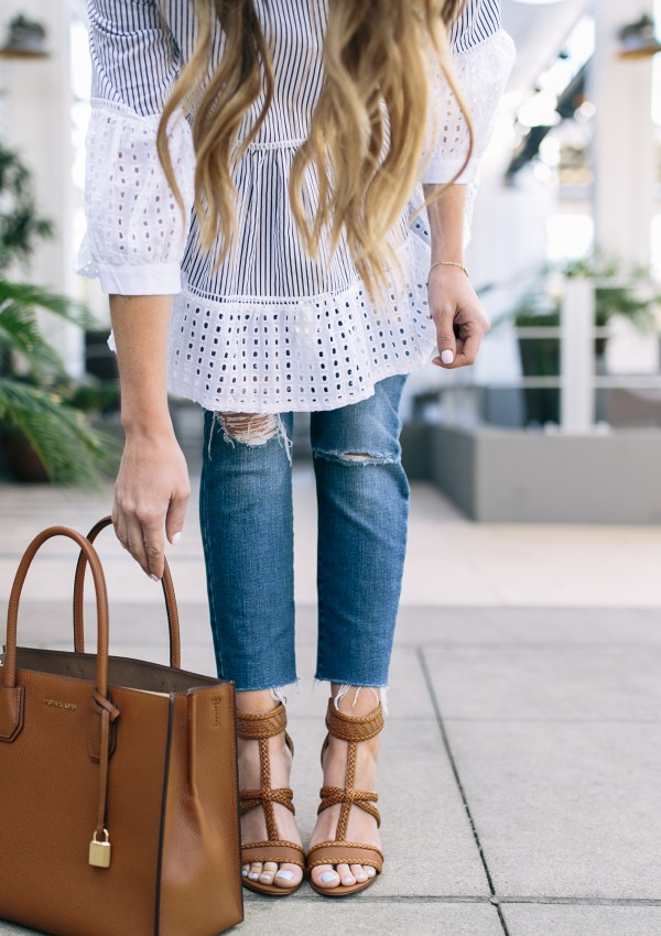 Chicwish Eyelet Blouse