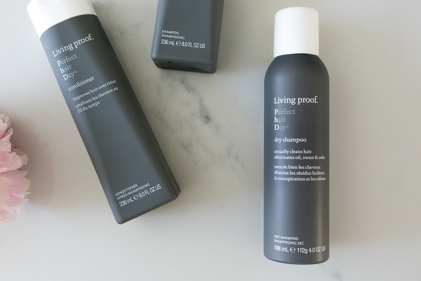 Blogger Daryl-Ann Denner of Something Beautiful shares her favorite hair care products to give full and healthy hair including Living Proof Dry Shampoo