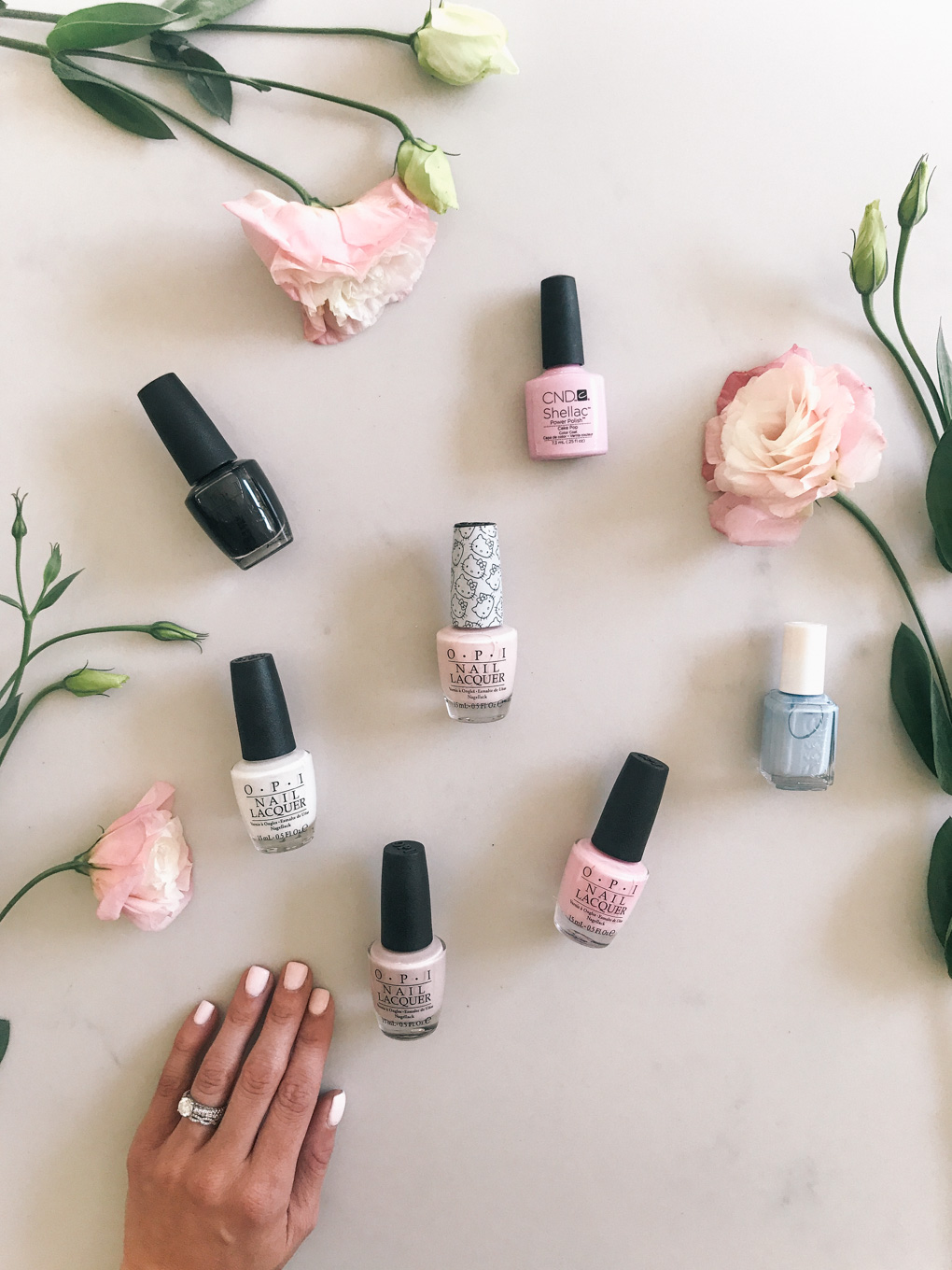 Daryl-Ann Denner shares her favorite opi essie and nail polish colors