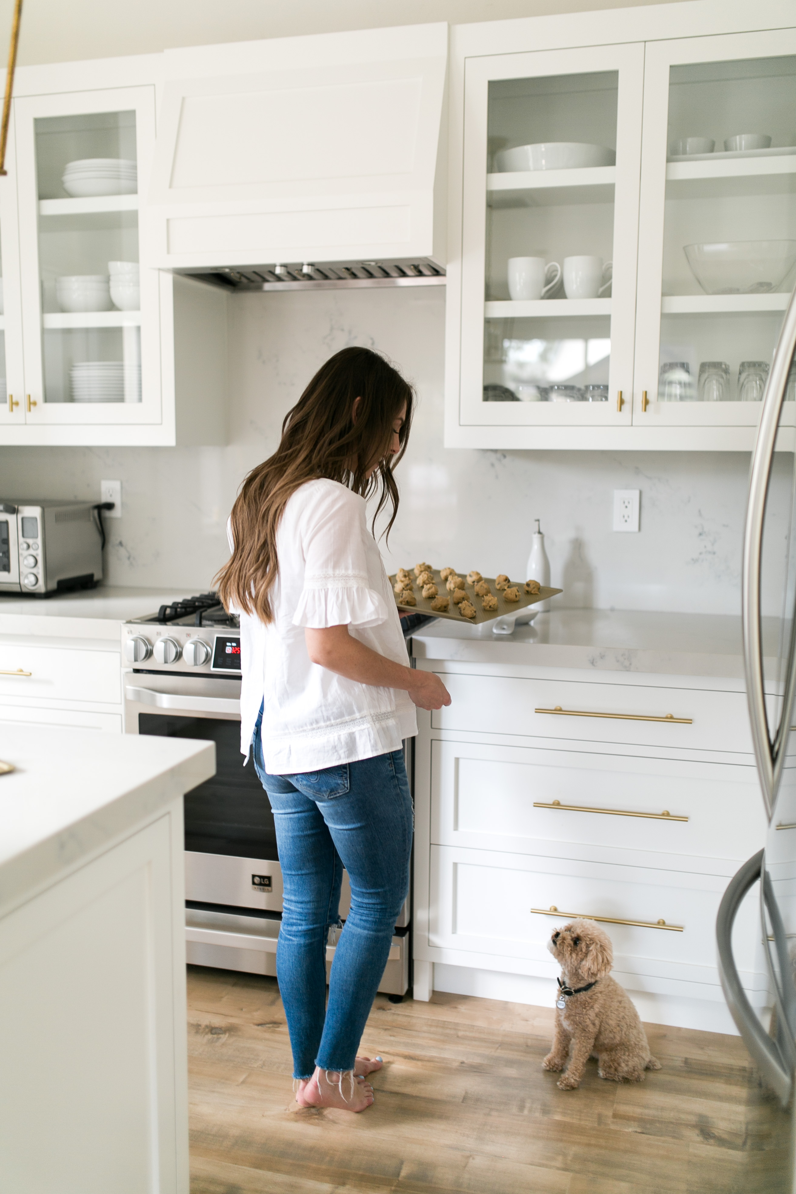 Kitchen Reveal + My Famous Cookie Recipe | Something Beautiful