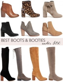 Style blogger Daryl-Ann Denner rounds up the best boots and booties under $150