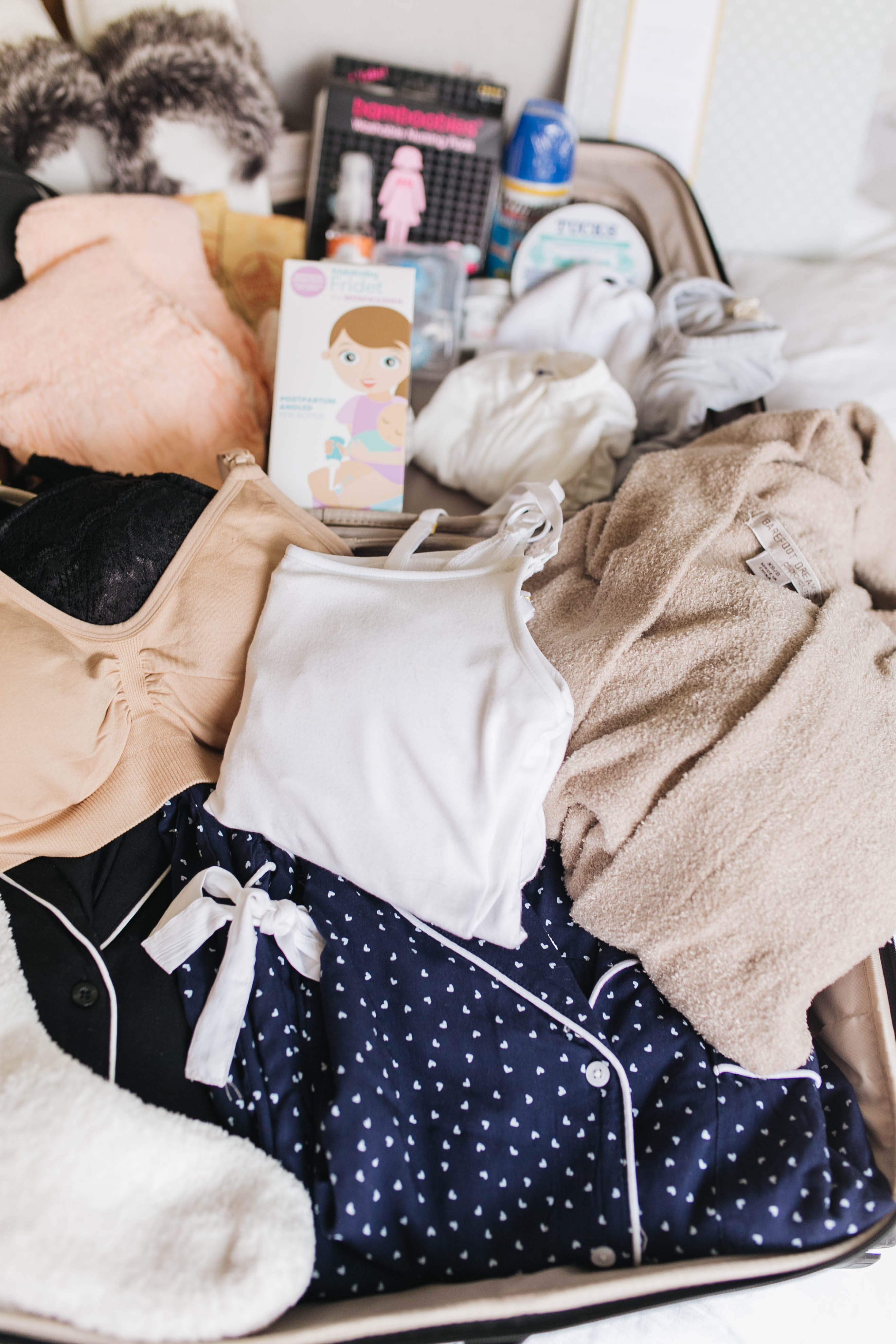 what to pack in hospital bag checklist daryl-ann denner something beautiful the blog