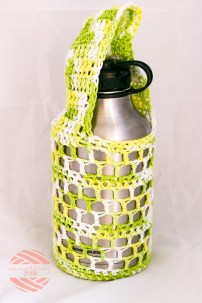 Something by Vera handmade crafts and crochet Hydroflask flask water bottle holder sling