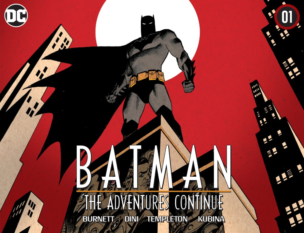 Batman: The Adventure Continues is not one of the best comics of the year.
