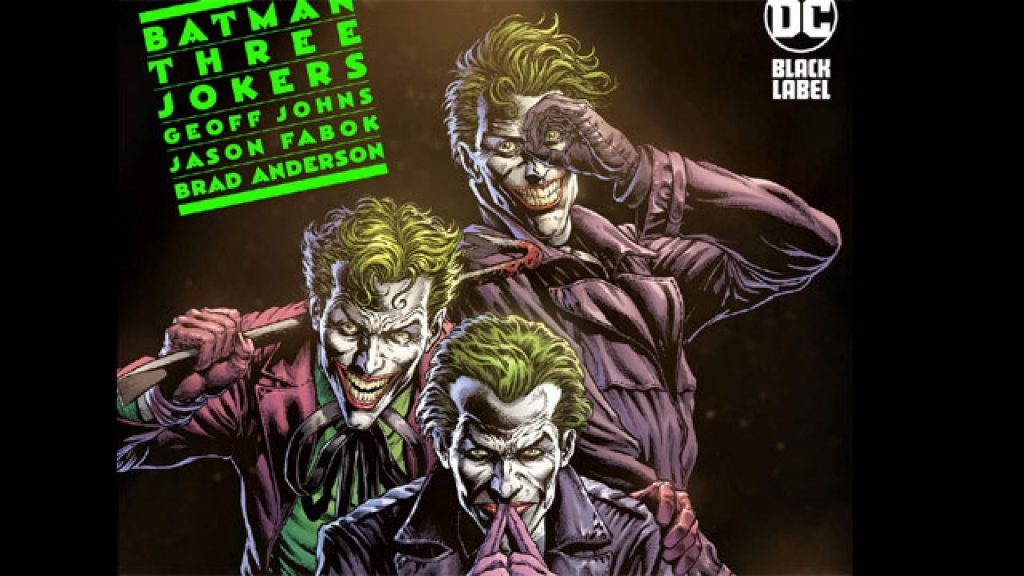 Batman three jokers cover, one of the best drawn comics of the year.