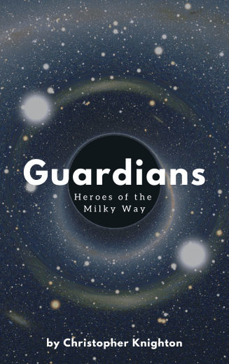 """Cover of """"Guardian: Heroes of the Milky Way,"""" a SomethingCentral original works."""