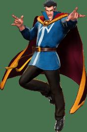 Dr Strange from Marvel vs Capcom 3, illuminating an issue that should lead to DC vs Capcom.