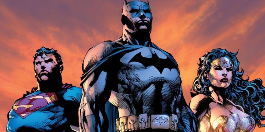 The Original DC Trinity.