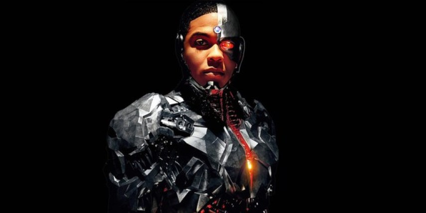 Cyborg of the Justice League.